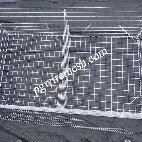 Comparison of welded gabion and braided gabion