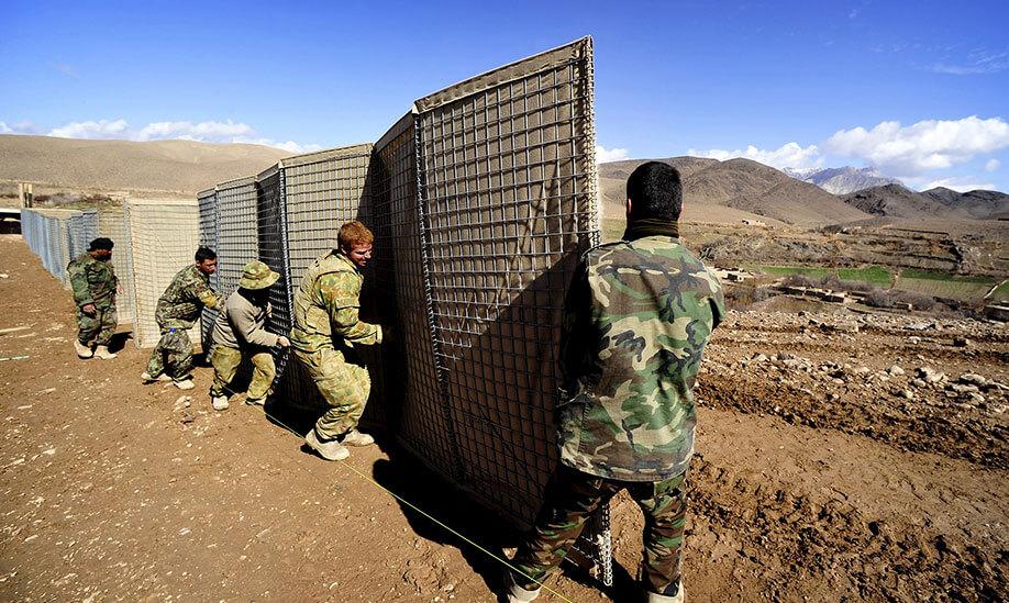 Hesco Barrier Bastion Hesco Defensive Barrier Hesco Wall China Manufacturer