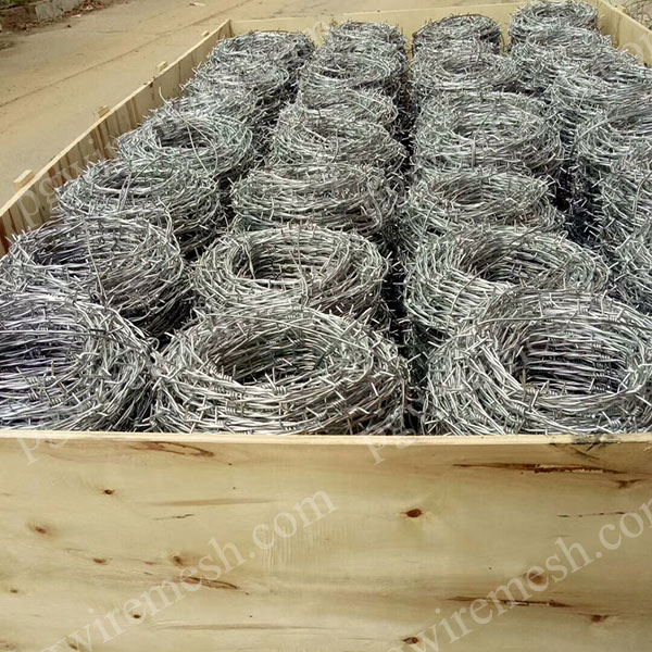 Double Strand Traditional Twist Barbed Wire China Manufacturer