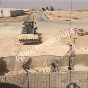Factory supply 1m*1m*10m Military Defensive Barrier Protection Wall