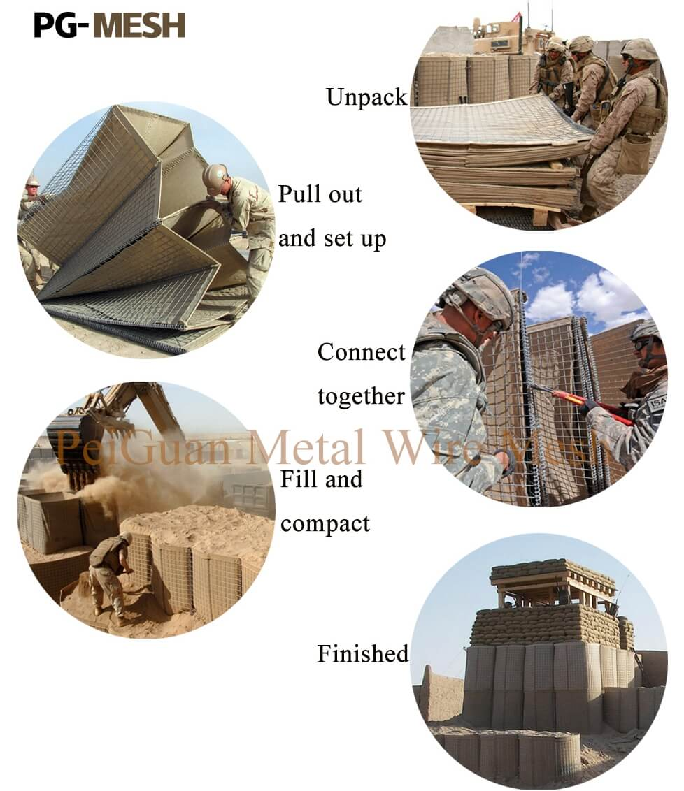 Military Wall Hesco Barrier, Defensive Barriers Installation.jpg