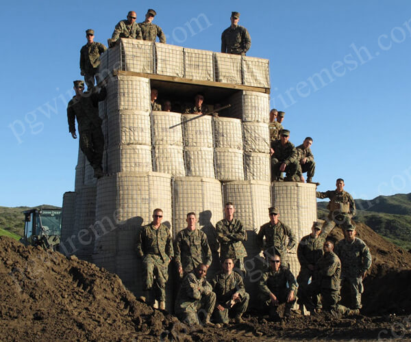 Military Defensive Barrier/Military Sand Wall for Military Use