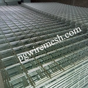 Galvanized & Black Welded Wire Mesh Panels manufacturer from China