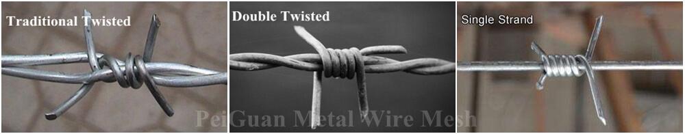 galvanized barbed wire China supplier