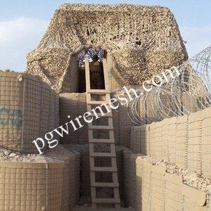 China Military Protective Barrier Sand Wall Bunker