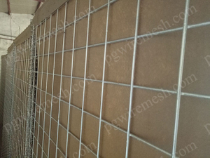 Hot dipped galvanized hesco barrier & heavy zinc coated hesco bastion made in China