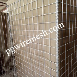 China manufacturer of Hesco Bastion Wall Blast Barrier