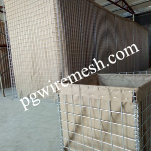 Regarding Hesco Barrier, how to choose steel wire material of welded wire mesh panel?