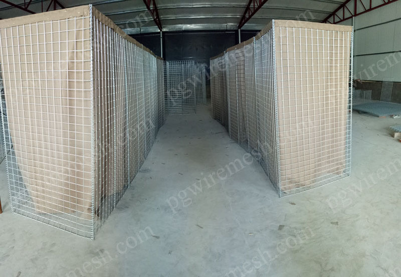 Hesco Barrier Shooting Range China Manufacturer