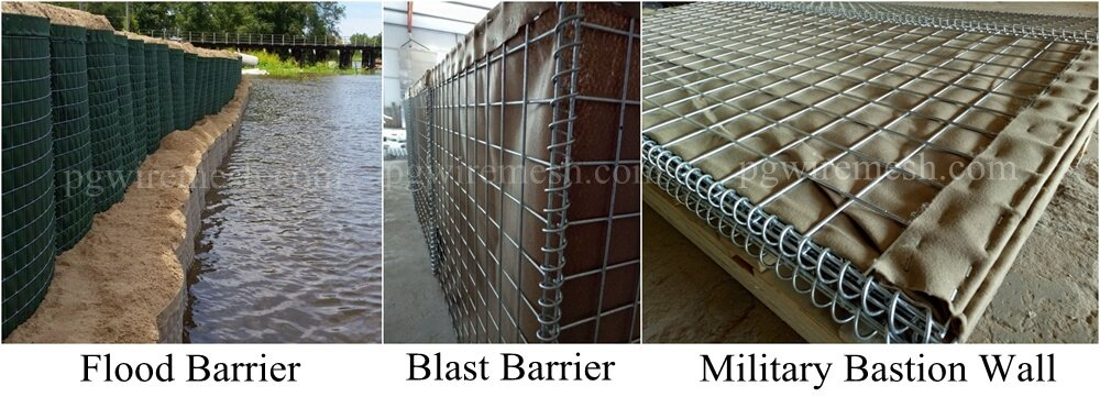 China Hesco Earth-filled Flood Barrier.jpg