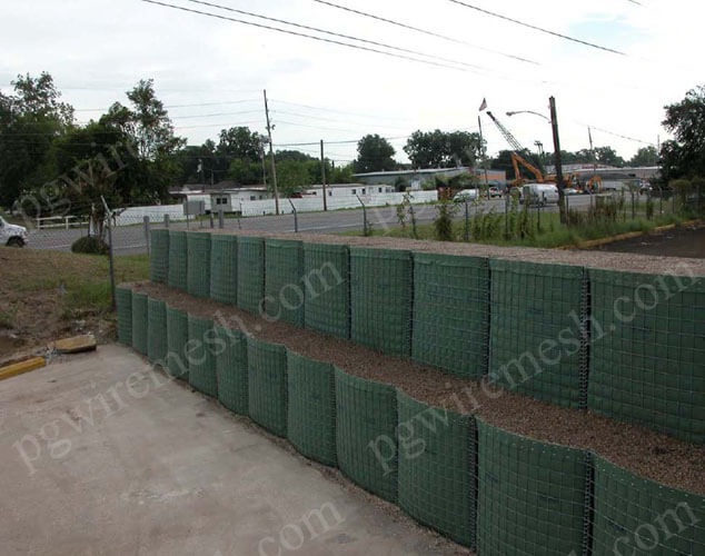 Security barrier military defensive barrier bastion for force protection China manufacturer